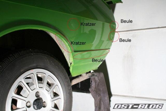 Passat TS Kratzer Beulen