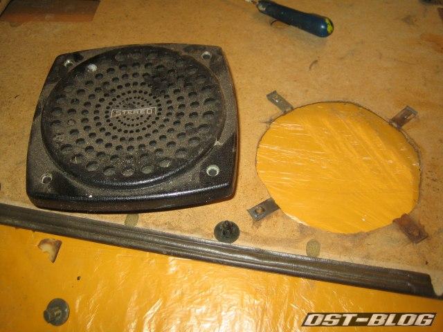 Passat TS Lautsprecher Türverkleidung