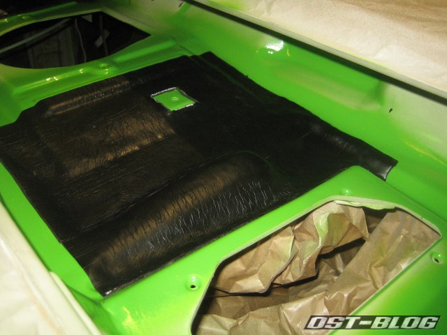 Passat TS Wasserkasten Bitumenmatte