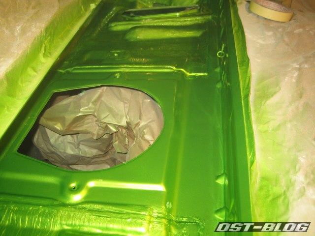 Passat TS Wasserkasten lackiert