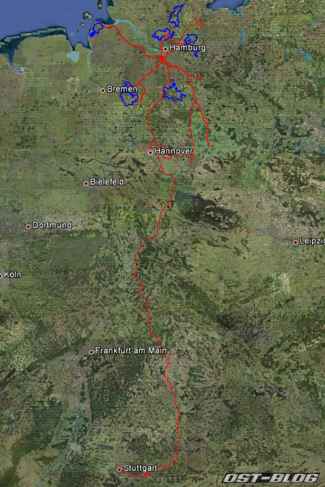 Strecke 76 2012