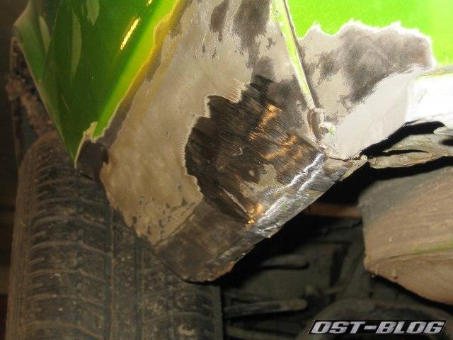 Passat TS Endspitze verschliffen