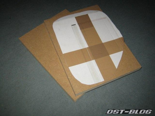 Passat TS MDF Platten