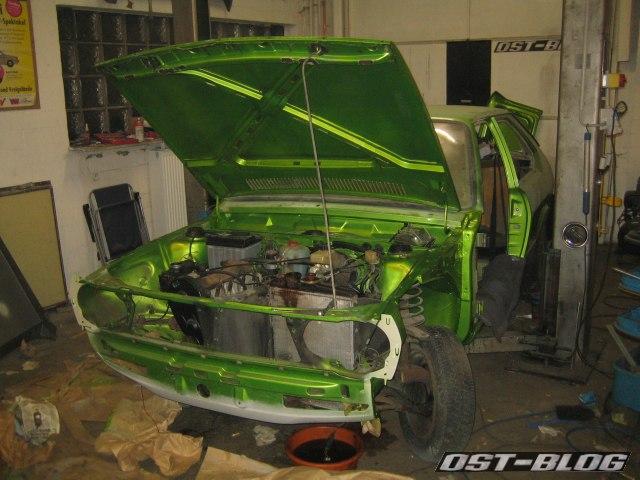 Passat TS Motorhaube montiert
