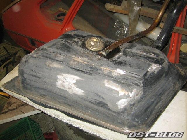 Passat TS Tank geschliffen