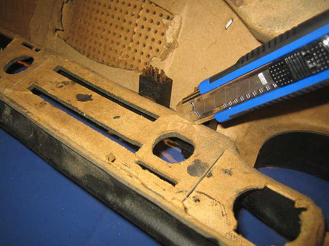 Passat TS Armaturenbrett Cuttermesser