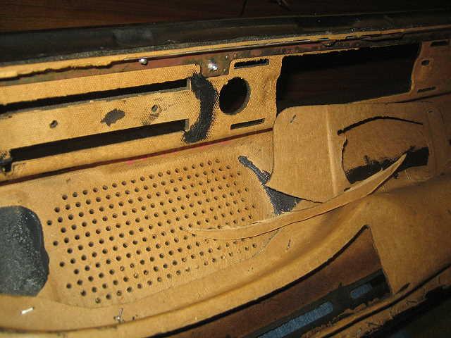 Passat TS Armaturenbrett Lautsprecherausschnitt