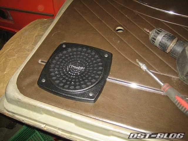 Passat TS  Doorboard Lautsprecherblende