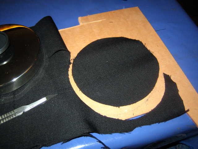 Skalpell Lautsprecherstoff
