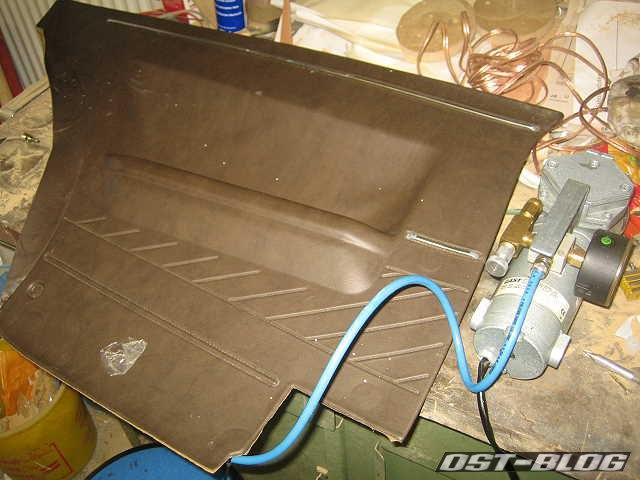 Passat TS Vakuumpumpe Seitenverkleidung