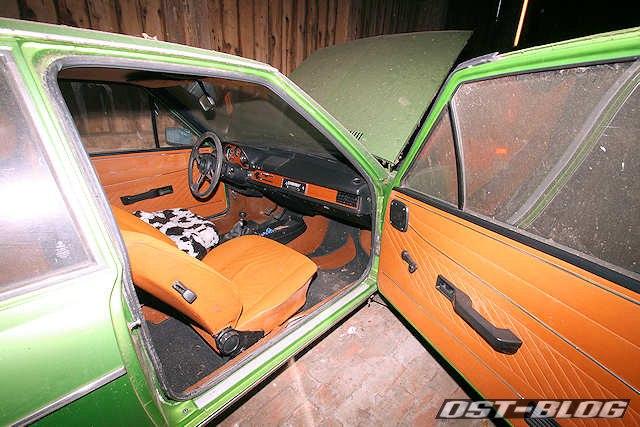 Passat B1 1976 viperngrün