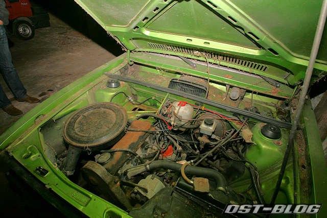 Passat L 1976 motorraum