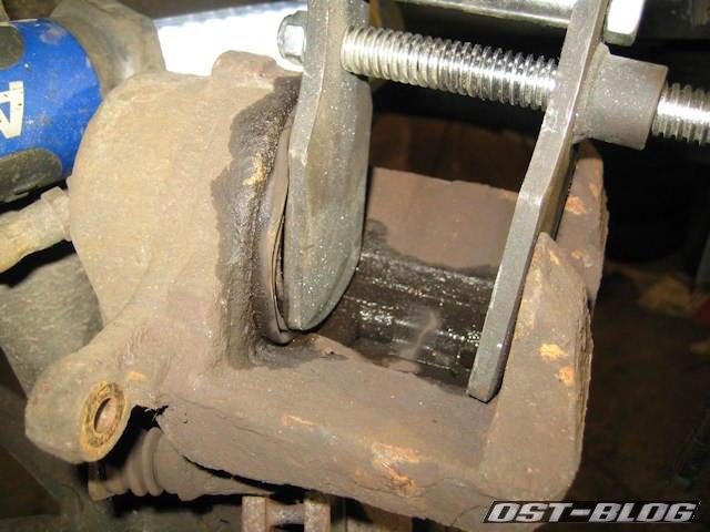 Bremsenrückstellwerkzeug