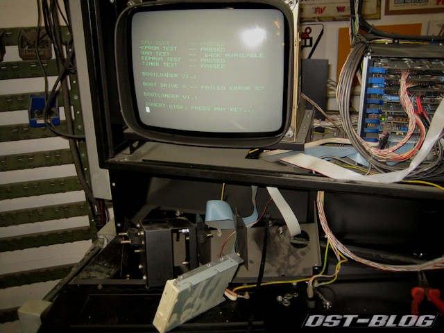 Diskettenlaufwerk-rechner
