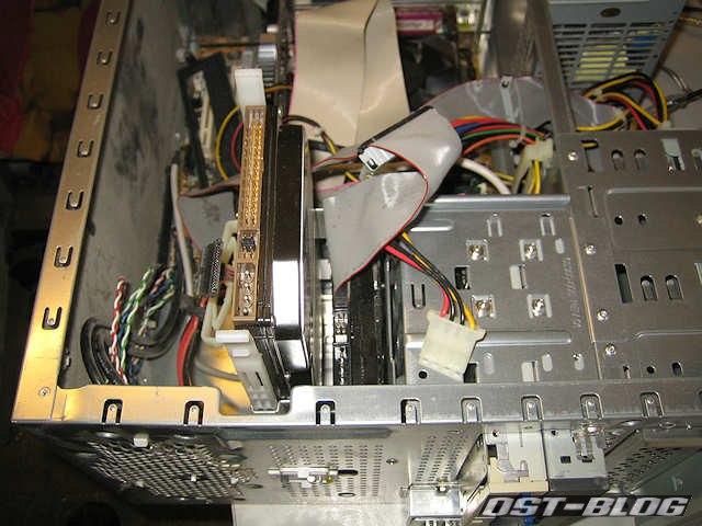 Festplatte Werkstattrechner