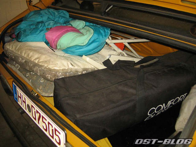 Kofferraum-Passat