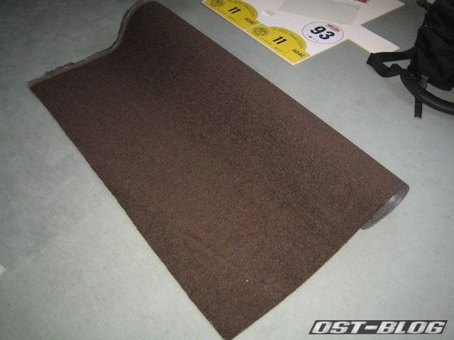 Autoteppich-braun