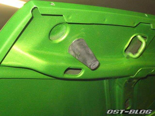 Puffer-Motorhaube-Passat-B1