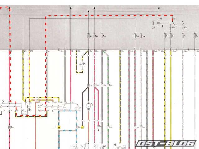 Passat-B1-Stromlaufplan