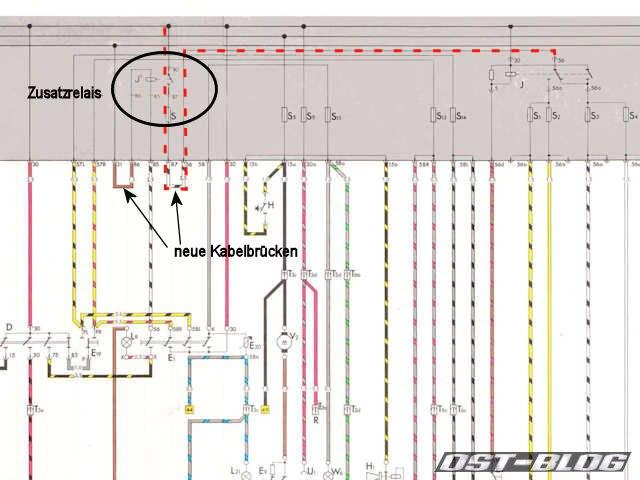 Passat-TS-Stromlaufplan