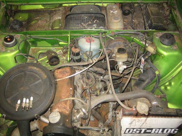 passat-TS-Motorraum-vorher