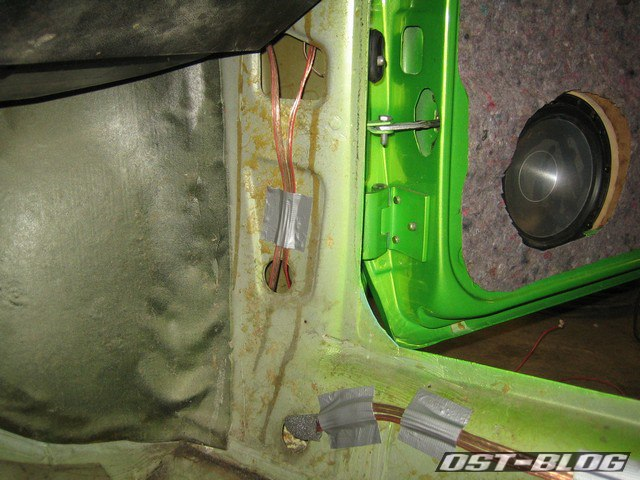 Installation-Lautsprecherkabel