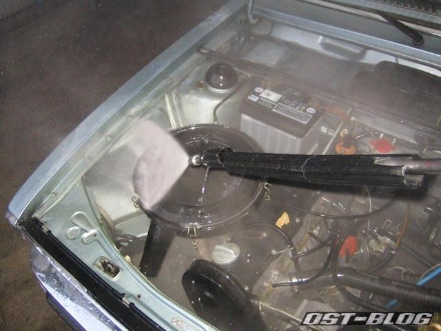 Motorraum-waschen