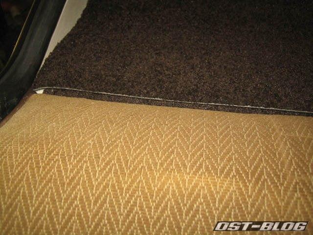 Teppich-Hutablage