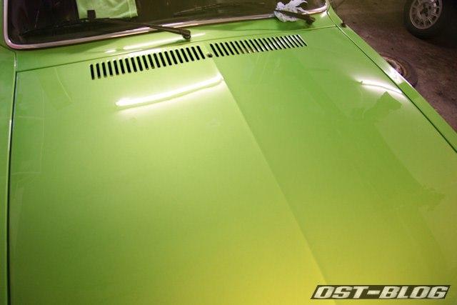 Motorhaube-poliert