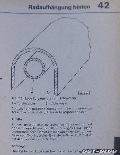 Hinterachse-poltern