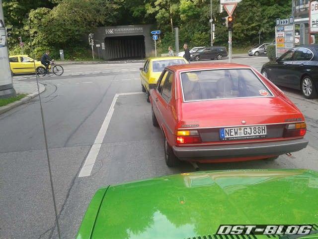 Abfahrt-München