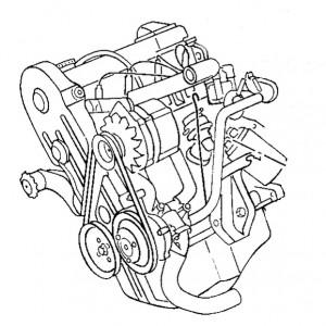 Hauptgruppe 1- Motor