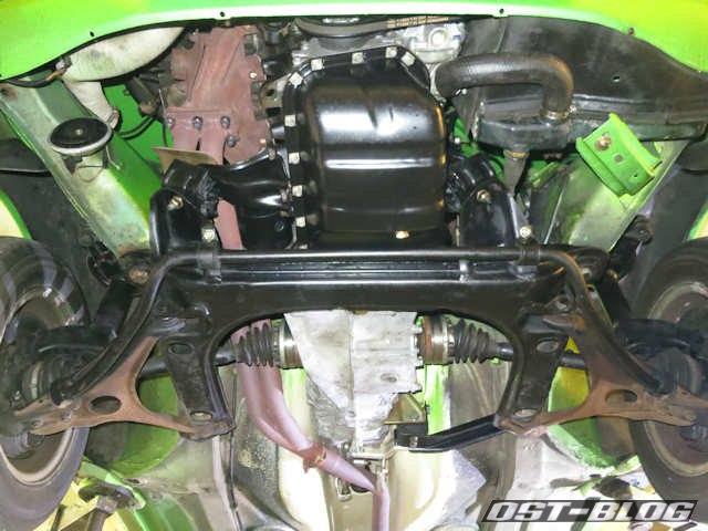 motor-von unten