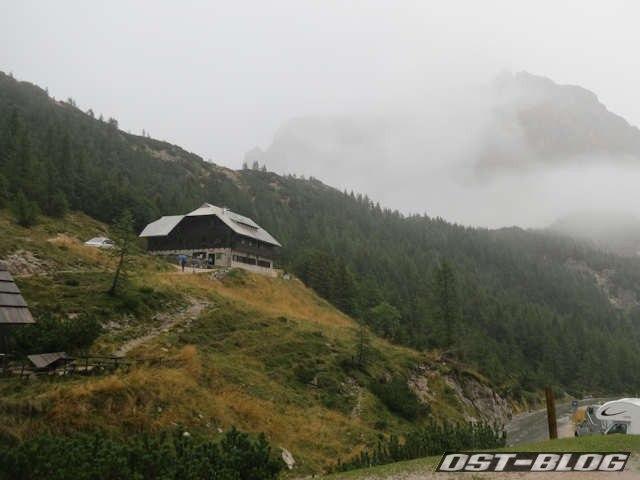 Berghütte Tičarjev dom na Vršiču