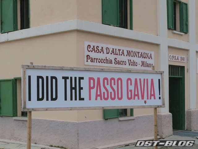 i did the passo gavia
