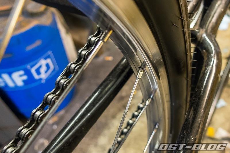 Fahrradfelge-poliert