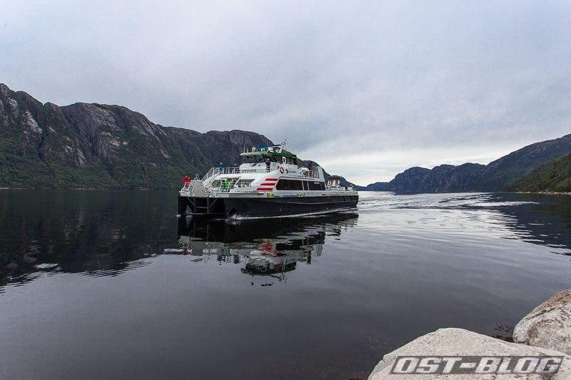 Fähre-Lysefjord