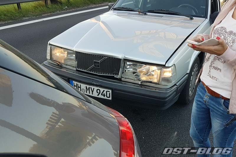 Volvo-unfall