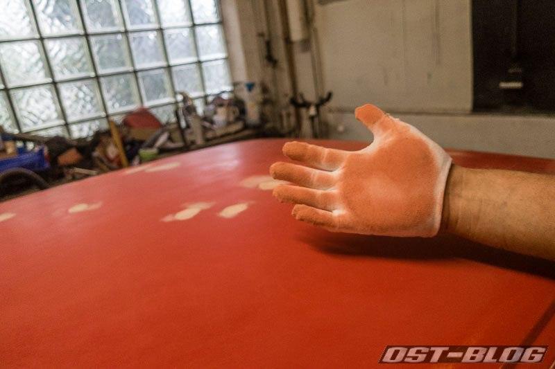 handschuh-blut