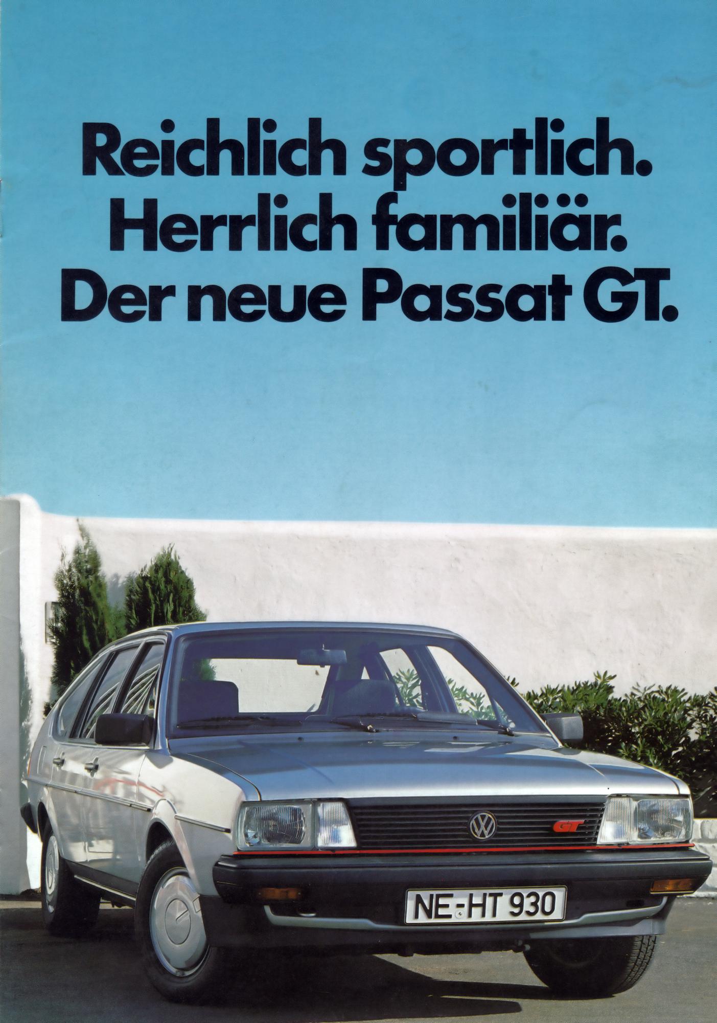 Passat GT Prospekt