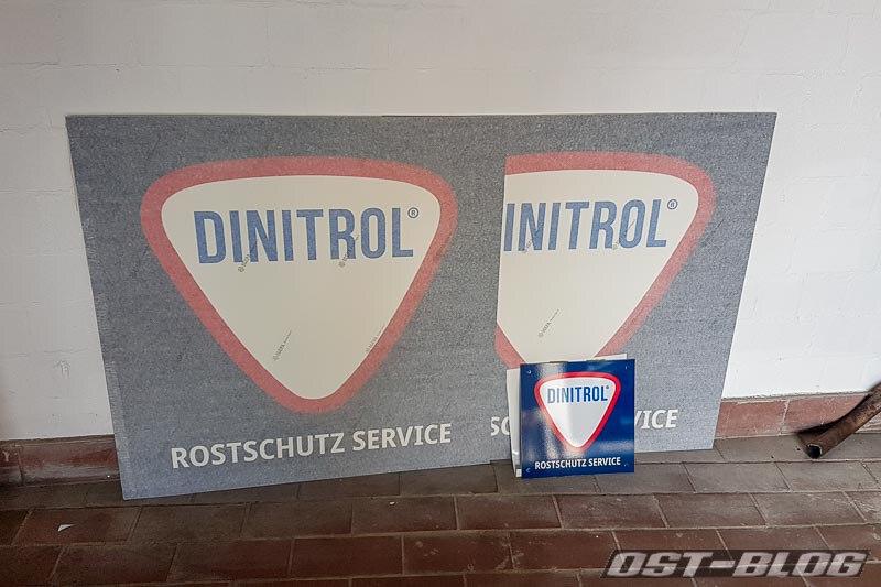 Dinitrol-schild